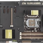 ASUS SABERTOOTH P67 LGA 1155 ATX Motherboard