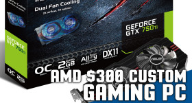 Best AMD $300 Custom Gaming Computer for the Money 2015