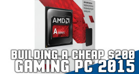 Building a Cheap $200 Gaming PC 2015